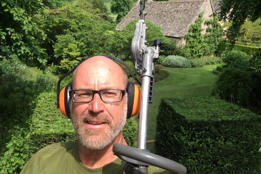 Gardener light years away from former role